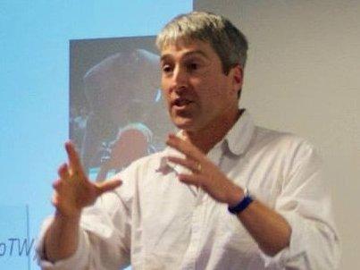 Phil giving workshop